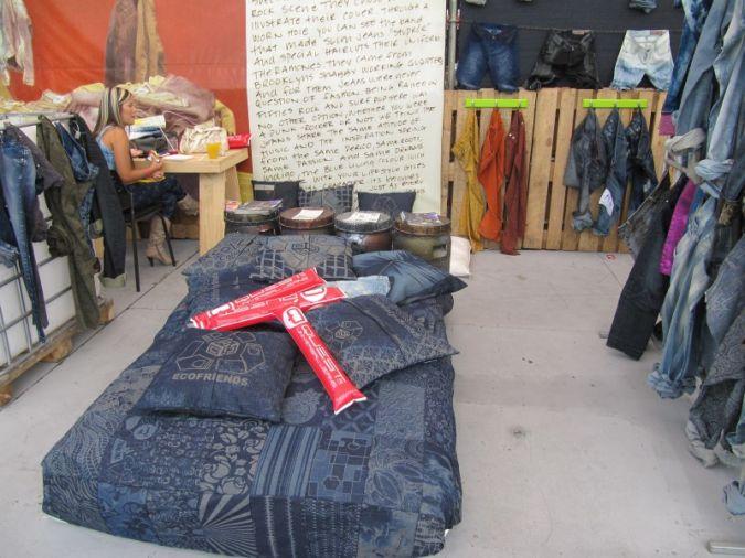 Nachhaltigkeit bleibt auch in der Denim-Branche ein primäres Thema. Im Bild Denim Lovers/Colombiatex Photo: textile network