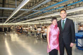 """""""Fleischgewordene"""" Firmenkultur in der Person von CEOs Stephanie und Laurence De Los Santos: Sie sind ausgezeichneten Produkten und Dienstleist..."""