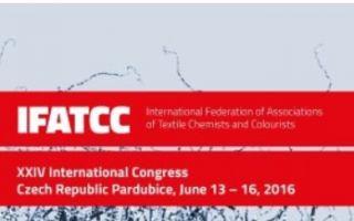 Flyer 24th IFATCC World Congress, 13.-16. Juni 2016, PARDUBICE, Tschechien (screenshot)
