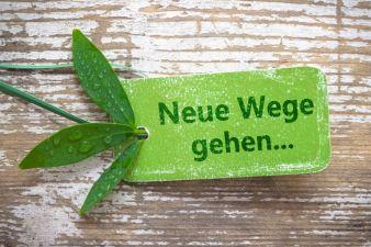 Neue Wege gehen… Photo: fotolia