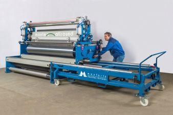 Montex-Allround für hohe Produktionskontinuität: Modulares Beschichtungssystem nicht nur für Technische Textilien Photos: Monforts