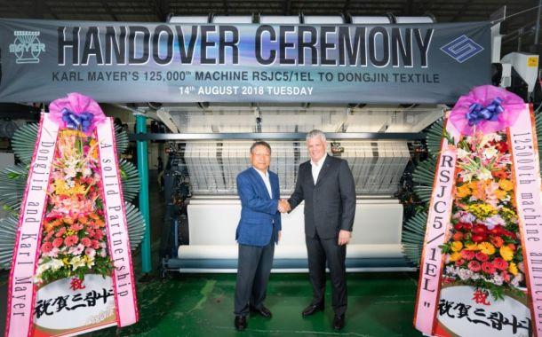 125.000. Maschine krönt 50-jährige Partnerschaft