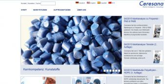 Screenshot Webseite Ceresana Photo: screenshot