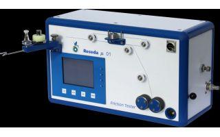 Messbarer und praktischer Erfolg: Mit dem Reibwertmessgerät von Reseda Binder werden die Reibwerte elektronisch gemessen und ohne angeschlossenen...