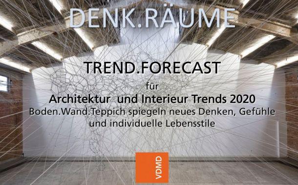 Denk.Räume für Architektur und Interieur Trends  2020