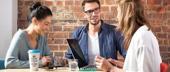 Die Start-up-Mentalität des Unternehmens ist in täglichen Arbeitssituationen spürbar Photos: Spreadshirt