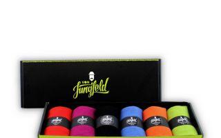 Premium-Socken des Mannheimer Labels von Jungfeld Photo: Von Jungfeld