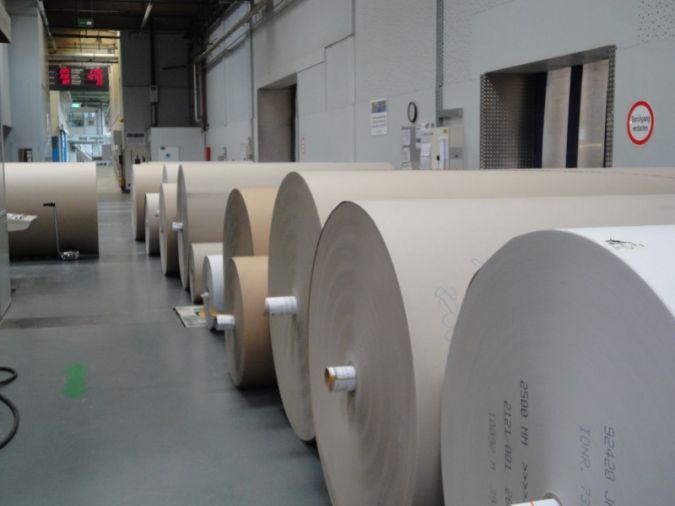 Die Wellpappenkapazität in Werne beträgt 135 Millionen Quadratmeter/Jahr Photos: Gebr. Kufferath