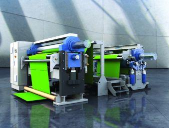 Maßgeschneidertes Kalanderkonzept von Andritz für die Textilienproduktion Photo: Andritz