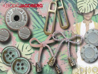 Bodo Jagdberg hat für den Sommer 2017 DOB insgesamt vier Trendthemen ausgearbeitet. Global Culture Club, Calm and mute Re-Luxury, Digital Pop Whit...