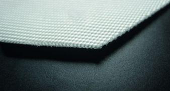 Verschmolzene Schnittkante bei Textilien mittels Laserzuschnitt