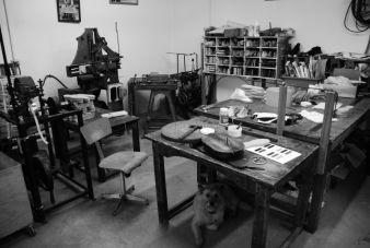 Die Werkstätten erinnern eher an ein Museum als an einen Arbeitsplatz
