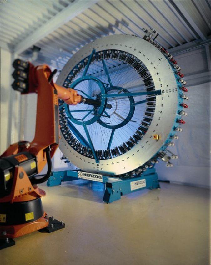 Präzision, Qualität, Langlebigkeit: Herzog-Radialflechtmaschinen sind zum Sinnbild neuer technotextiler Welten geworden