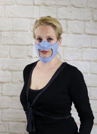 """Corona-Krise: Mundfenster-Masken zum """"Mithören""""   textile ..."""