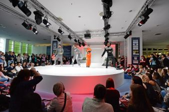 Ein Highlight Apparel Fashion ShowTechtextil und Texprocess 2015 Photos: Messe Frankfurt