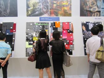 Messeimpressionen Trends Intertextile Shanghai