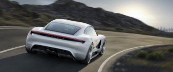 Konzeptstudie Mission E - auf der Frankfurter Automobilausstellung IAA im September 2015. sorgte vor allem das hoch emotionale Design für Aufsehen...