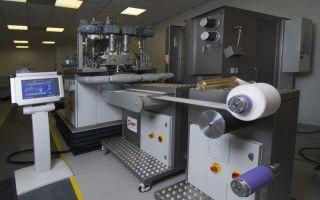 Beispiel einer modular aufgebauten Anlage von FET Photo: Fibre Extrusion Technology