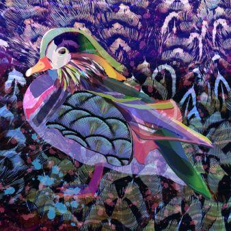 """Die Dessins der neuen Design-Serie """"Flowers of Grace"""" wurde von Turnowskys Kreativ-Direktorin Ira Avezov entwickelt. Photos: Kornit Digital"""
