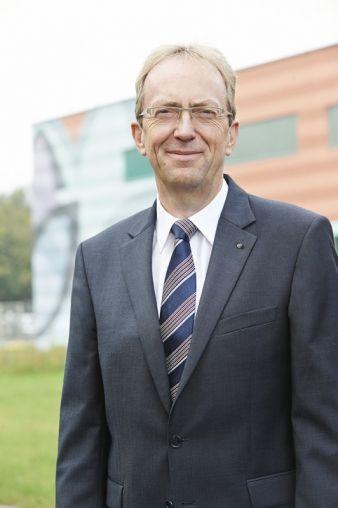 Nach zweijähriger Umbauphase ist Rolf Lausmann der Geschäftsführer des modernsten Mewa-Betriebs