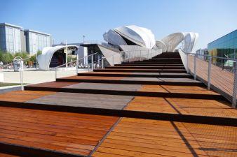 Der deutsche Pavillon auf der Weltausstellung in Mailand Photos: Messe Frankfurt