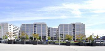 Zalando Hauptquartier in der Tamara-Danz-Straße, Berlin  Photo: Zalando