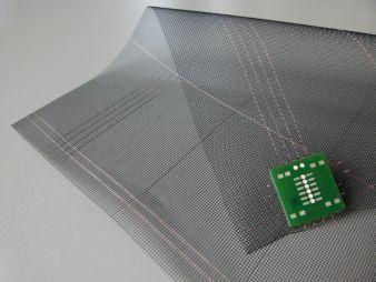 Zudem wird Ettlin intelligente Textilien mit integrierter Mikroelektronik am Gemeinschaftsstand B 17 der Firma Forster Rohner Textile Innovations i...