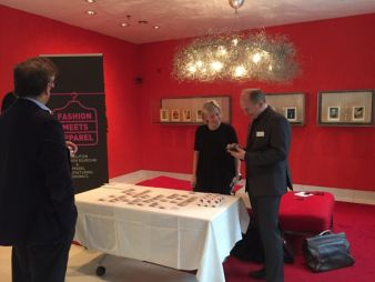 Jacqueline Kellner, Lectra, begrüßt die Gäste (Photo: textile network)