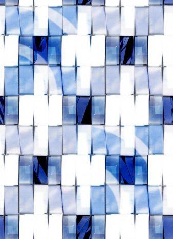 Studenten der Hochschule Niederrhein entwarfen Designs, die mit den Epson Sublimationsdrucker auf Textil realisiert wurden. Im Bild: Entwurf  Photo...
