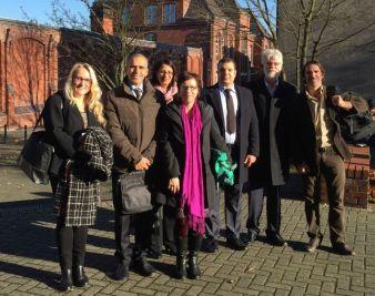 Zusammentreffen der deutschen und der tunesischen Delegation am Standort Mönchengladbach Photo: Hochschule Niederrhein