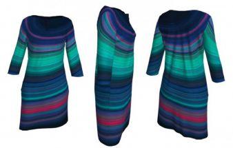 Virtuelles 3D-Modell eines Kleides mit wechselnden Ansichten Photo: DITF-MR