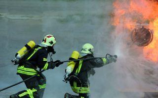 Am STFI geprüft: Schutzkleidung gegen Hitze und Flammen Photo: STFI