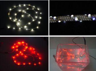Wasserdicht ausgerüstete Leuchtbänder mit SMD-LEDs