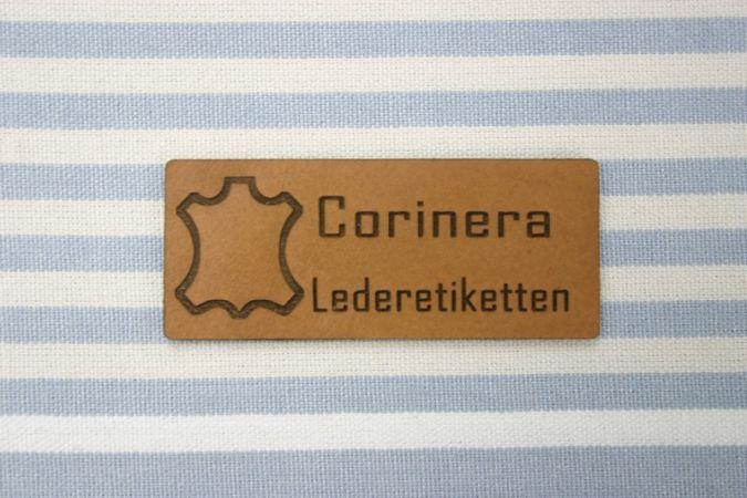 Leder-Etiketten mit Online-Konfiguration von Dortex