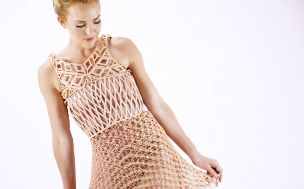 3D-gedruckte Kleiderkollektion ausgezeichnet