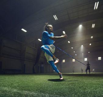 US-Nationalspieler Jermaine Jones ist offizieller Partner der US-Marke und wird beim Länderspiel in Fußballschuhen von Under Armour auflaufen Pho...