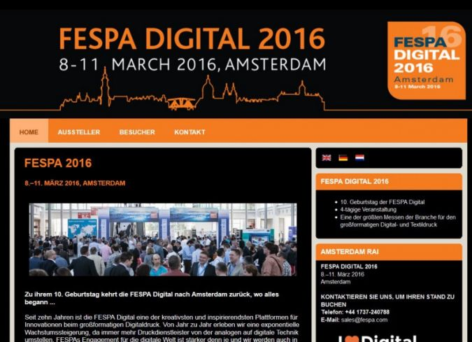 Fespa-Website