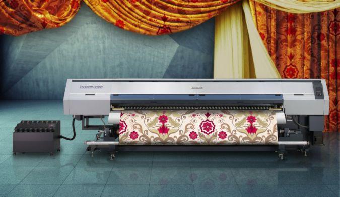 Mimaki präsentiert den neuen TS500P-3200 Tintenstrahldrucker für Heimtextilien und Dekorstoffe Photos: Mimaki