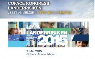 Coface Kongress Länderrisiken 2015 Photo: screenshot