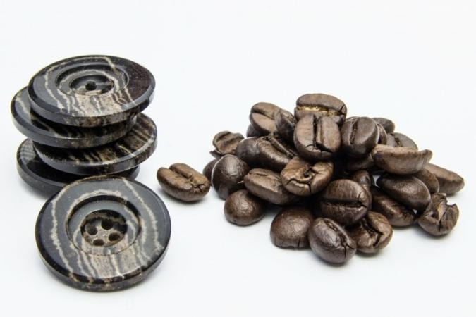 Kaffee im Knopf bei der Butonia-Kahage Group