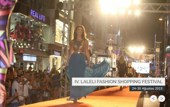 Screenshots Laleli Fashion Shopping Festival 2015 Photo: lalelishoppingfestival.com