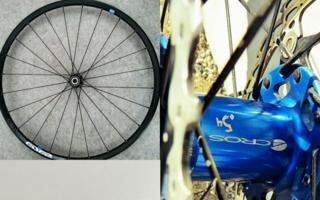 Abbildung 1: Laufräder mit Stahlspeichen Photos: TU Chemnitz