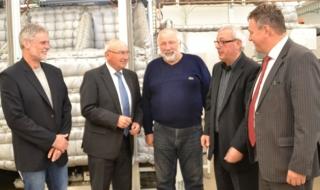 Freundschaftliche Atmosphäre herrschte unlängst beim Besuch der Delegation von mtex+  und vti bei den Partnern von Atok und Clutex in Tschechien....