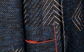 Woven stitches (Eingewebte Maschen) Photos: H. Stoll