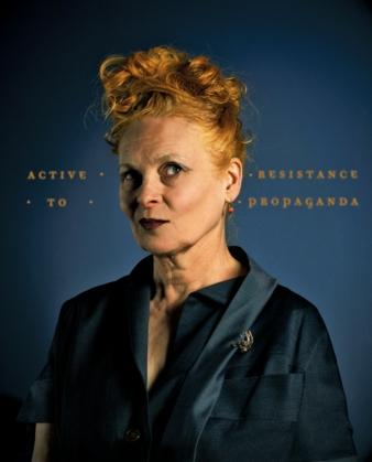 VIvienne Westwood kommt nach MG Photo: Christian Shambanait