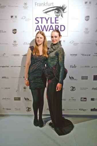 Die Gewinnerin des United Diversity Award For Outstanding Talent 2014, Melissa Schulz. Das Model trägt ihr Sieger-Design Parasite Technology. Phot...