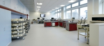 Blick ins Labor
