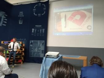 Gigi Caccia, Italdenim: Mit unserer Kititex-Kampagne sparen wir Wasser und beschreiten einen nachhaltigen Weg in der Denim-Produktion.