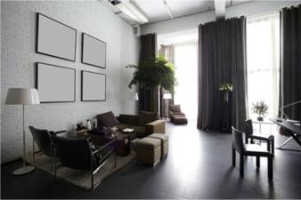 Vorhang Granat Focus Photo: Moondream