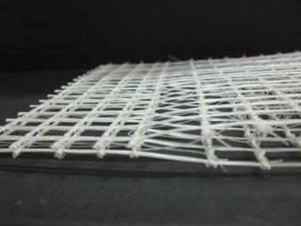 Weltweit einzigartig: Die 3D biaxialen Bewehrungsgitter aus AR Glas oder Carbon verjüngen sich an beiden Enden. Somit können die Gitter überlapp...